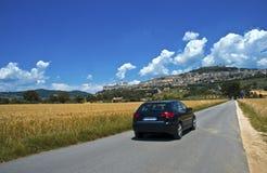 Het reizen door auto Stock Foto