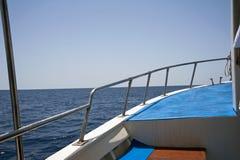 Het reizen door boot royalty-vrije stock foto