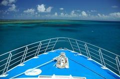 Het reizen door boot stock foto