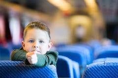 Het reizen door Trein Stock Foto