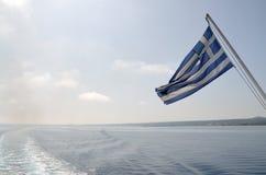 Het reizen met veerboot Royalty-vrije Stock Afbeeldingen