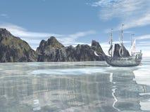 Het reizen naar de eilanden Stock Foto's