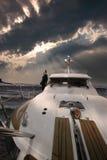 Het reizen op Jacht Royalty-vrije Stock Afbeeldingen