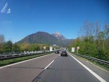 Het reizen op Oostenrijk Stock Afbeeldingen