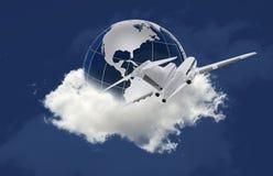 Het reizen rond de Wereld Stock Fotografie