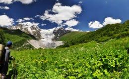 Het reizen rond Svaneti royalty-vrije stock fotografie