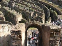 Het reizen van Colosseum in Rome, Italië Stock Foto's