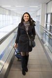 Het reizen van de vrouw Royalty-vrije Stock Foto