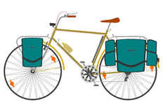 Reizende fiets. Royalty-vrije Stock Foto