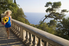Het reizen van het Middellandse-Zeegebied stock foto's