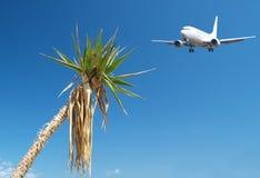 Het reizen van het vliegtuig Royalty-vrije Stock Fotografie