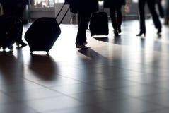 Het reizen van mensen Stock Afbeelding