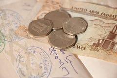Het reizen in Verenigde Arabische Emiraten Royalty-vrije Stock Afbeelding