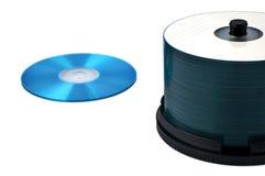 Het rek van CD royalty-vrije stock foto's