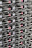 Het Rek van de server stock afbeelding