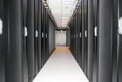 Het rek van de server Stock Fotografie