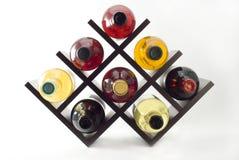 Het rek van de wijn stock foto's