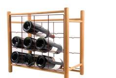 Het Rek van de wijn Stock Foto