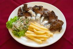Het Rek van het lam, Libanees voedsel. royalty-vrije stock foto