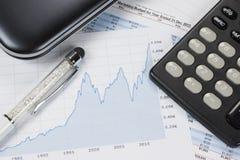 Het rekenschap geven - Bedrijfsconcept royalty-vrije stock foto's