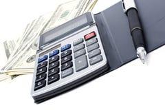 Het rekenschap geven en financiën Stock Afbeeldingen