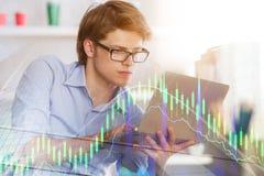 Het rekenschap geven en financiënconcept Stock Afbeelding