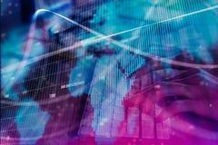 Het rekenschap geven, financiën en Internet-concept stock illustratie
