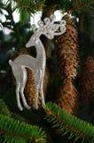 Het rendier van de Kerstmisdecoratie Stock Foto's