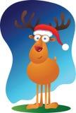 Het Rendier van Kerstmis Stock Foto