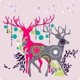 Het rendier van Kerstmis Royalty-vrije Stock Foto
