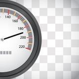 Het rennen achtergrond met snelheidsmeter Royalty-vrije Stock Afbeelding