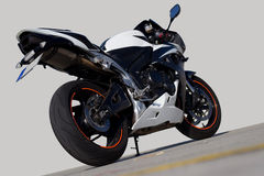 Het rennen Motocycle Stock Foto's