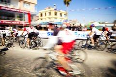 Het Rennen MTB. Manavgat Antalya Turkije Stock Foto