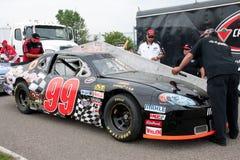 Het rennen NASCAR Royalty-vrije Stock Foto's