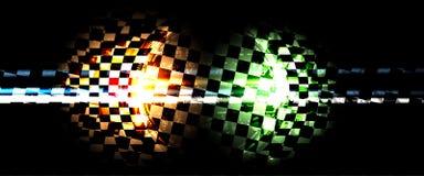 Het rennen snelheidsachtergrond, vectorillustratieabstractie in auto vector illustratie