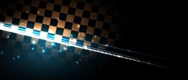 Het rennen snelheidsachtergrond, vectorillustratieabstractie in auto royalty-vrije illustratie
