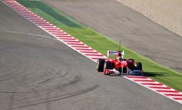 Het rennen van Ferrari Stock Foto's