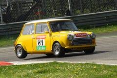 Het Rennen van Mini Cooper Royalty-vrije Stock Foto's