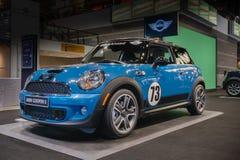 2013 het Rennen van Mini Cooper S Stock Afbeeldingen