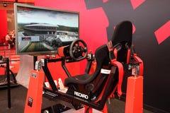 Het Rennen van Renault de Simulator van de Vrachtwagen Royalty-vrije Stock Afbeeldingen