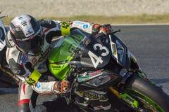 Het Rennen van teamcc Motos Duurzaamheid Royalty-vrije Stock Fotografie