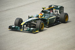 Het Rennende Team van Lotus Formule 1 Royalty-vrije Stock Foto's