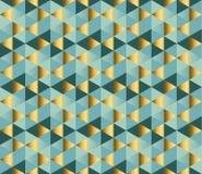 Het repitable patroon van het meetkundeornament Stock Afbeelding