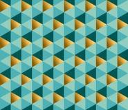 Het repitable patroon van het meetkundeornament Royalty-vrije Stock Afbeelding