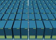 Het Reserve Opslaande Milieu van gegevens royalty-vrije illustratie