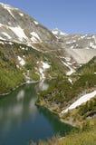 Het Reservoir en de Dam van Galgenbichl royalty-vrije stock foto's