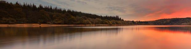Het Reservoir van Burrator Stock Afbeelding