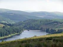 Het Reservoir van de berg Stock Afbeelding