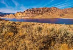 Het Reservoir van de Gunnisonrivier Stock Foto