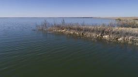 Het Reservoir van de Hubbardkreek, TX Stock Foto